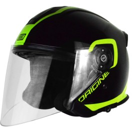 Casco Origine Palio Flow 2.0 Black-Lime Tg. XL