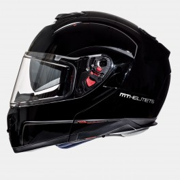 Casco MT Helmets Atom Solid Gloss Black Tg XL